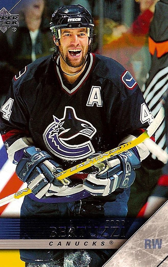 Vancouver Canucks Legends: Todd Bertuzzi