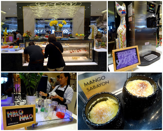 Dessert station Vikings Cebu