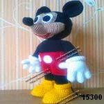patron gratis mickey mouse amigurumi, free amigurumi pattern mickey mouse