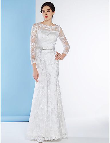 vestidos con manga para novia