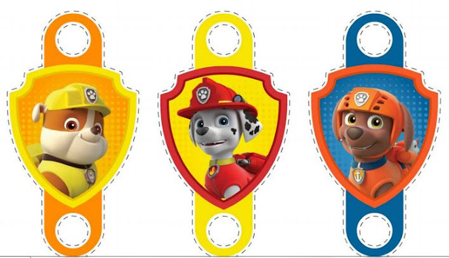 Awesome Free Printable Paw Patrol Party Blowers.