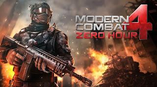Modern combat 4 mod apk download