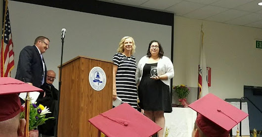 OCCTAC Receives the College & Career Preparatory Academy's Outstanding Partnership Award!