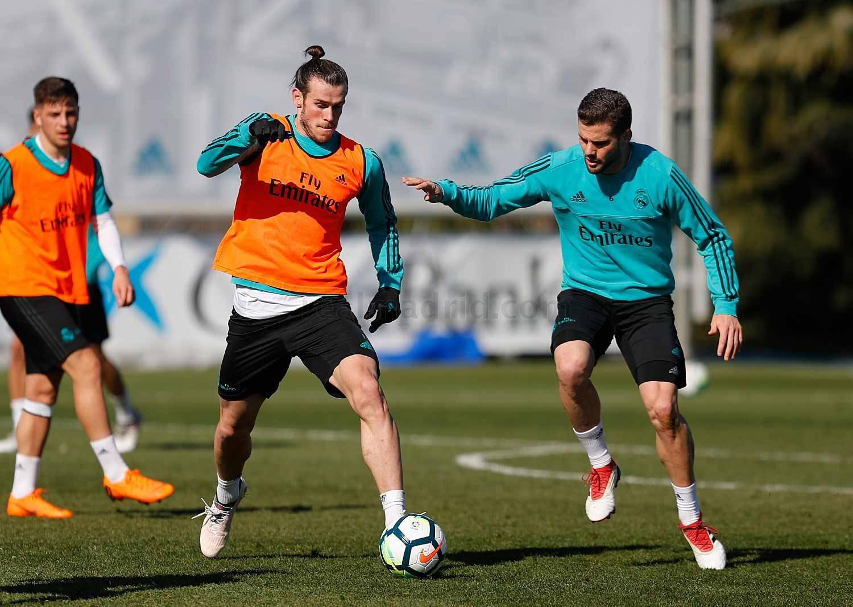صور ..ريال مدريد يبدأ تحضيراته لمواجهة الأفيش