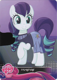 My Little Pony Countess Coloratura Equestrian Friends Trading Card