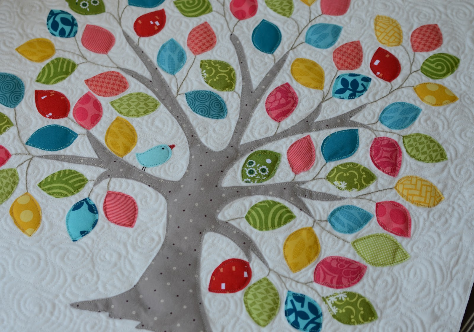 Applique Hyacinth Quilt Designs Tree Appliqué