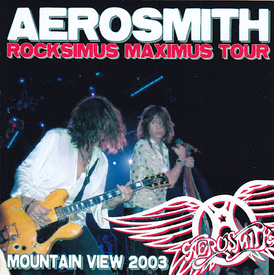 Aerosmith Bootlegs Cover Arts Mountain View 2003