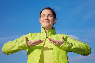 كيف اتخلص من الوزن الزائد : تقنية التنفس طريق الهدوء الداخلي