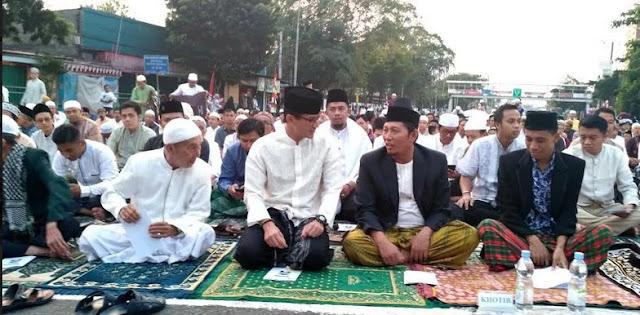 Sandiaga Uno Tolak Sambutan di Hadapan Jemaah Idul Adha, Apa Alasannya?