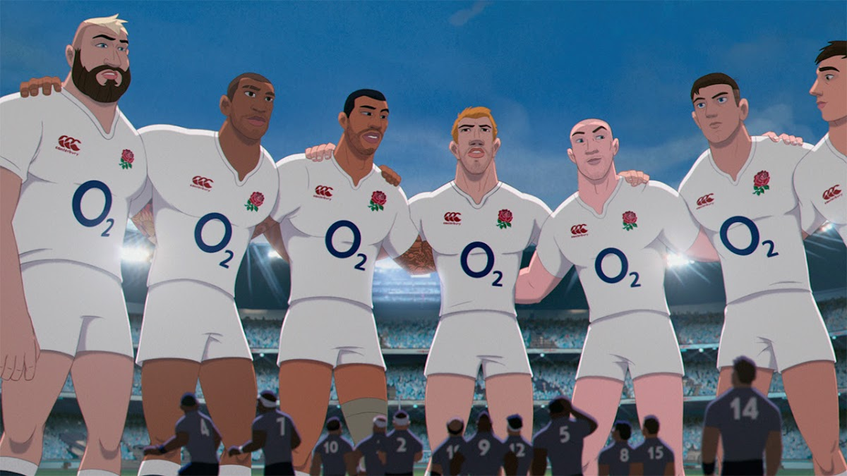 O2 - Make Them Giants. England Rugby Animation #WearTheRose