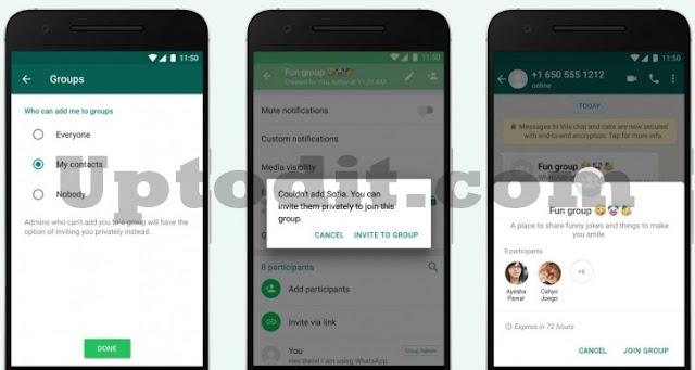 Cara Mencegah Dimasukkan ke Grup WhatsApp (WA)