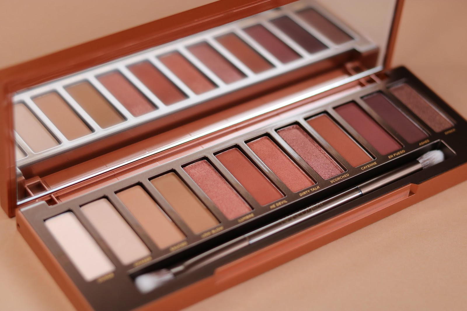 urban decay naked heat eyeshadow palette review another kind of beauty blog. Black Bedroom Furniture Sets. Home Design Ideas