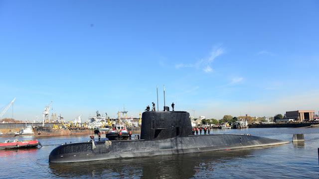 Detectan un objeto de 55 metros de largo no identificado durante la búsqueda del ARA San Juan