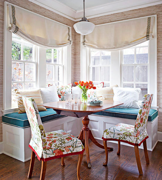 decor inspiration sunny breakfast nook