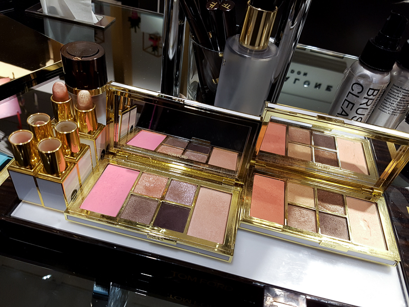 Tom Ford Soleil Winter 2016 Makeup Collection - Lip Foil - Eye Cheek Palettes - Swatches