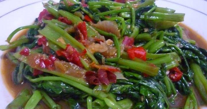 resep cah kangkung saos tiram   resep masakan 4