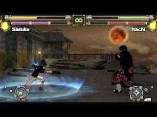 Game Naruto Ultimate Ninja Heroes 2 - The Phantom Fortress ISO PPSSPP