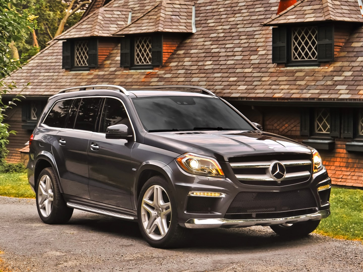 Visualmente Camioneta Mercedes Benz GL 500 2014