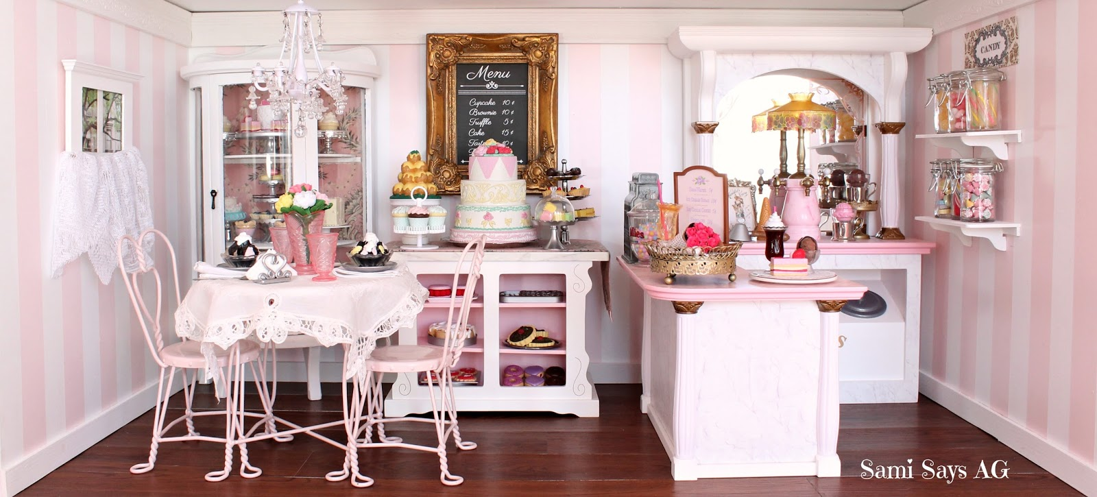 Between The Ice Cream Bakery Treats Candy And Fancy Victorian Theme We Knew Going To Have Fun With This Room