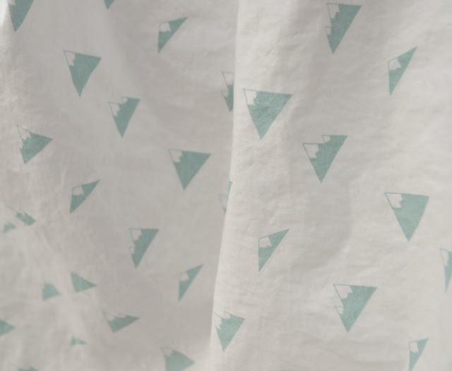 Sewing for Baby: A Crib Sheet and a Cheater Quilt