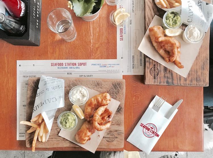 sopot gdzie zjeść, sopot restauracje, sopot cały gaweł, sopot seefood station, sopot pelican