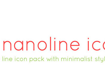 Download 200 Nanoline icons Free