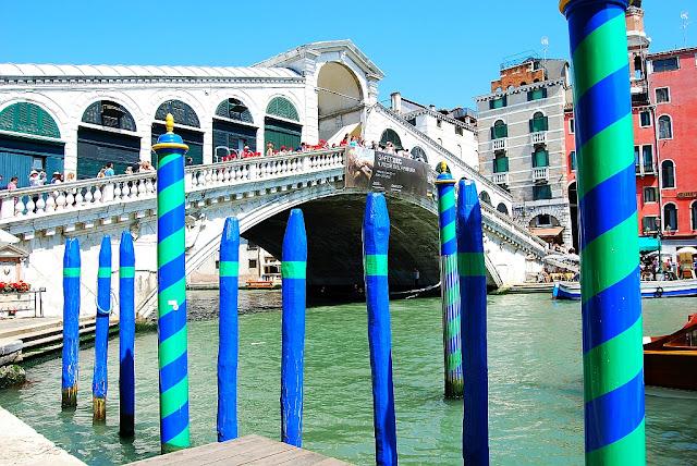 Ponte di Rialto. Jeden ze symbolů Benátek