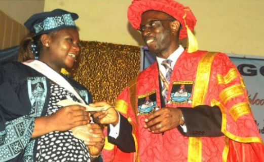 Lady Who Failed JAMB 6 Times Emerges Best Graduating Student In Lagos