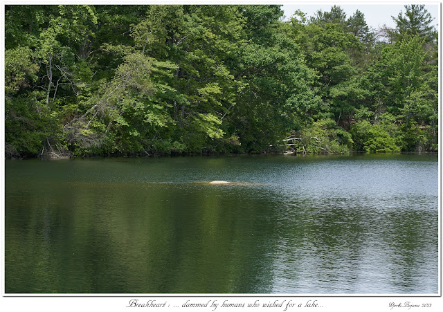 Breakheart: ... dammed by humans who wished for a lake...