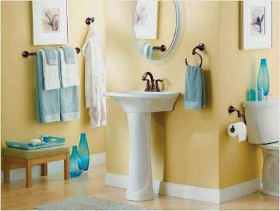 Decorating Ideas For Towels In Bathroom