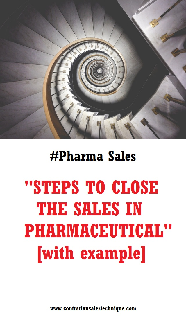 Pharma sales closing steps