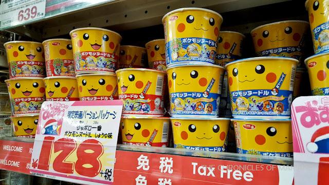 pikachu noodles