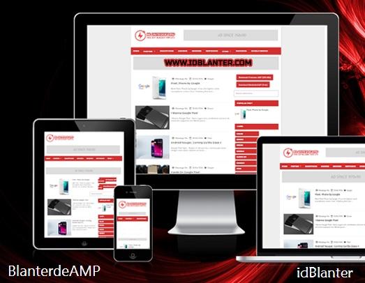 Template AMP Terbaru Gratis