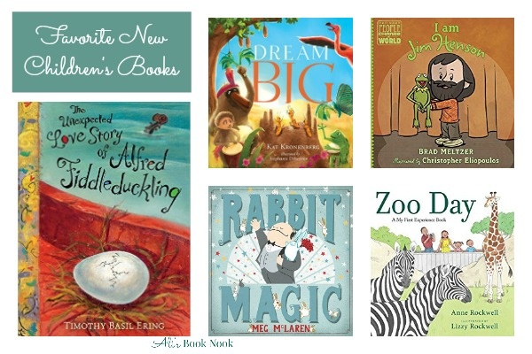 Favorite New Children's Pictures Books this Week