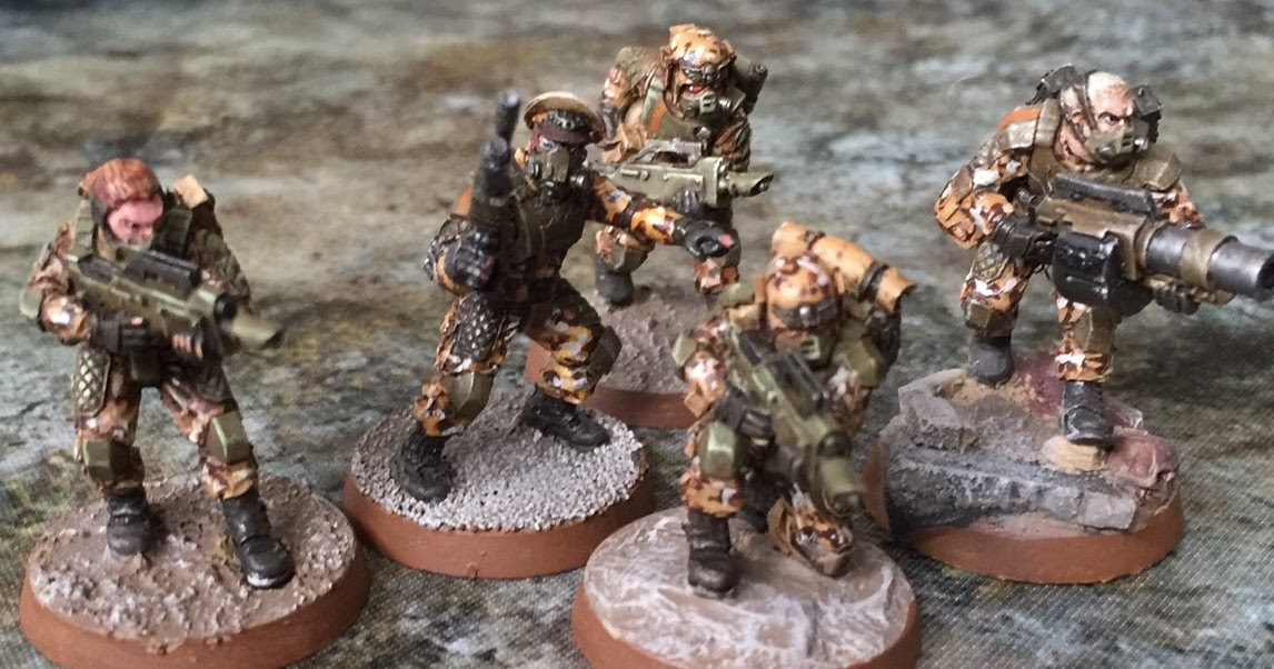 Death of a Rubricist: + inload: Infantry and specialists