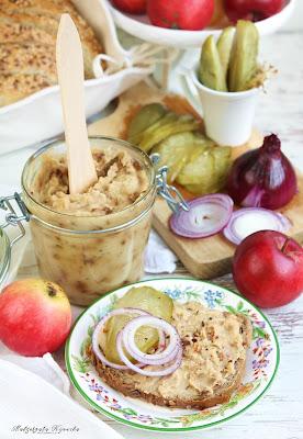 pasta kanapkowa z fasoli, wegeratiańska pasta, wege smalec, smalec fasolowy, jak zrobić smalec vege, daylicooking