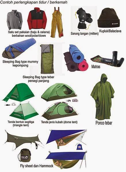 perlengkapan wajib pendaki gunung