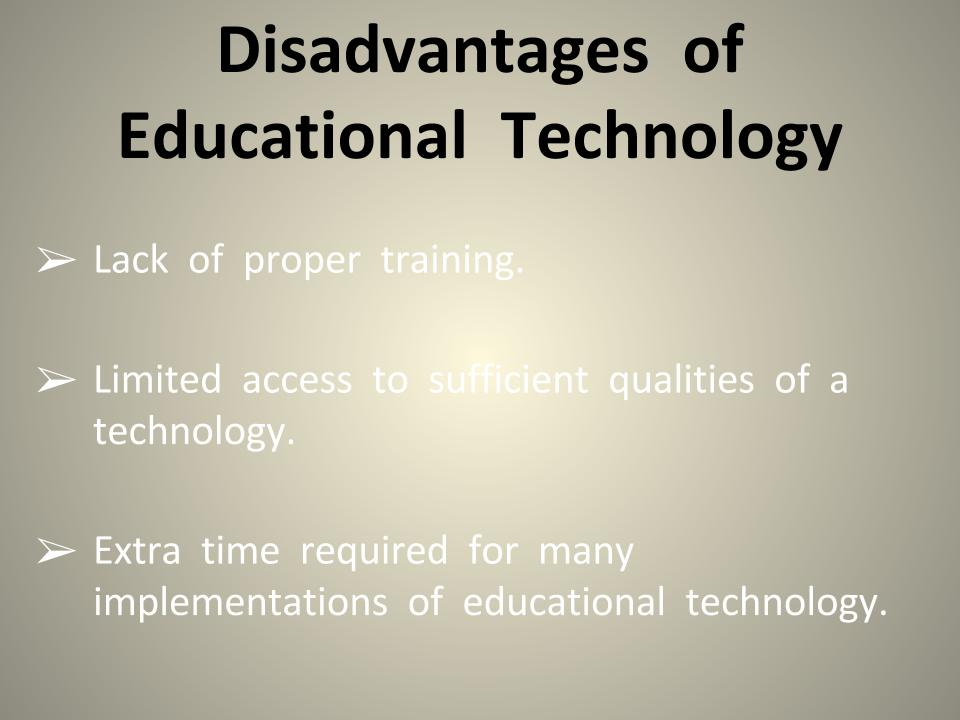Image result for disadvantage of technology in education