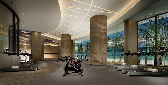 Phòng tập GYM tại dự án căn hộ Swisstouches La Luna Nha Trang