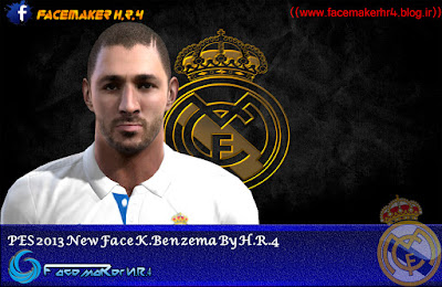 PES 2013 New Face K. Benzema By H.R.4