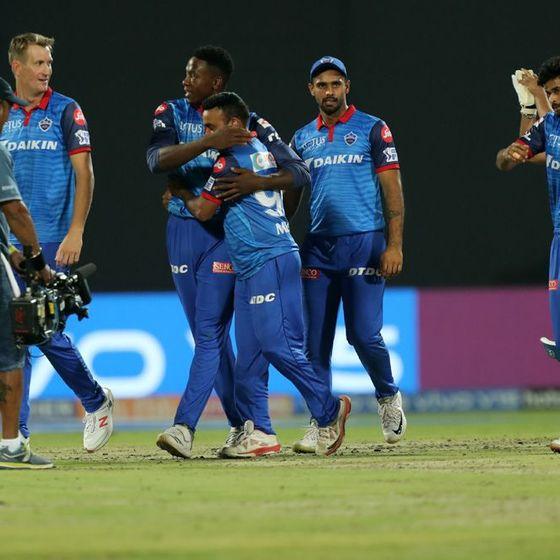 दिल्ली कैपिटल्स के पृथ्वी शॉ ने 99 रन बनाए