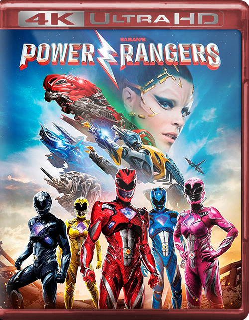 Power Rangers [2017] [UHD] [2160p] [Latino]