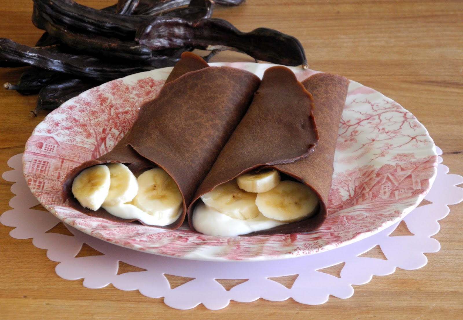 O meu tempero crepes de alfarrofa - Ingredientes para crepes ...