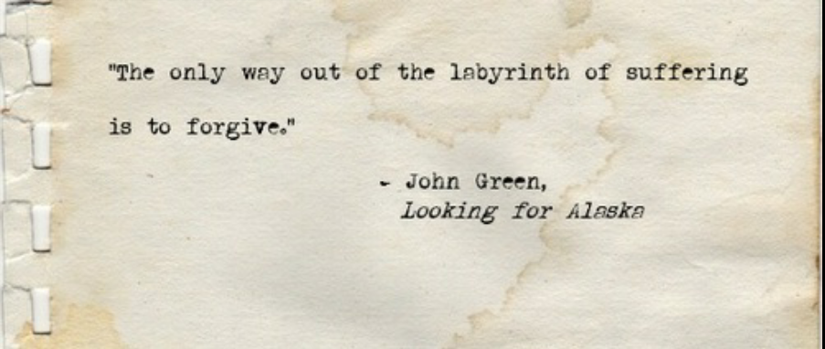 Looking For Alaska Book: Overcome Life: Inspired From 'Looking For Alaska' By John