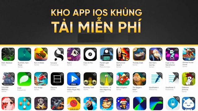 [HOT] Chia sẻ Acc kho app iOS khủng hoàn toàn miễn phí - App trả phi nhưng mua vào những ngày giảm giá