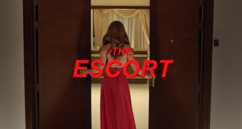 The Escort 2016 Regal Films adult-themed drama movie title card  directed by Enzo Williams Cruz starring Lovi Poe, Derek Ramsay, Christopher De Leon, and Jean Garcia showing on November 2, 2016