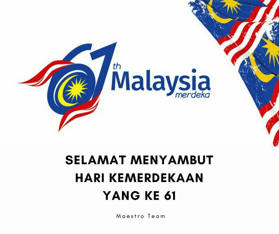 poster merdeka malaysia yang ke 61