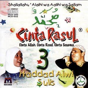 Download MP3 Album Cinta Rasul Hadad Alwi & Sulis - Hanya