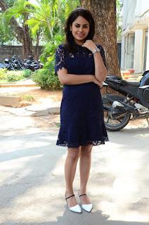 Nandita Swetha Photos In Black Mini Dress