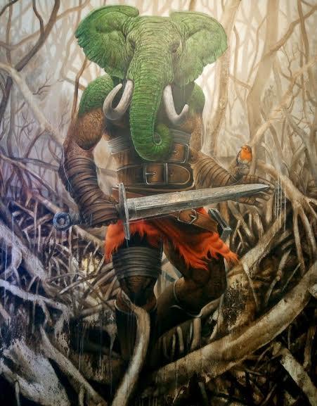 Lukisan Agus Putu Suyadnya-teraSeni.com